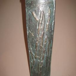 44. narrow vase 16 in