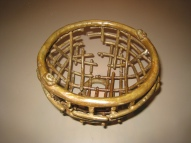 22. lattice bowl 7 in diam